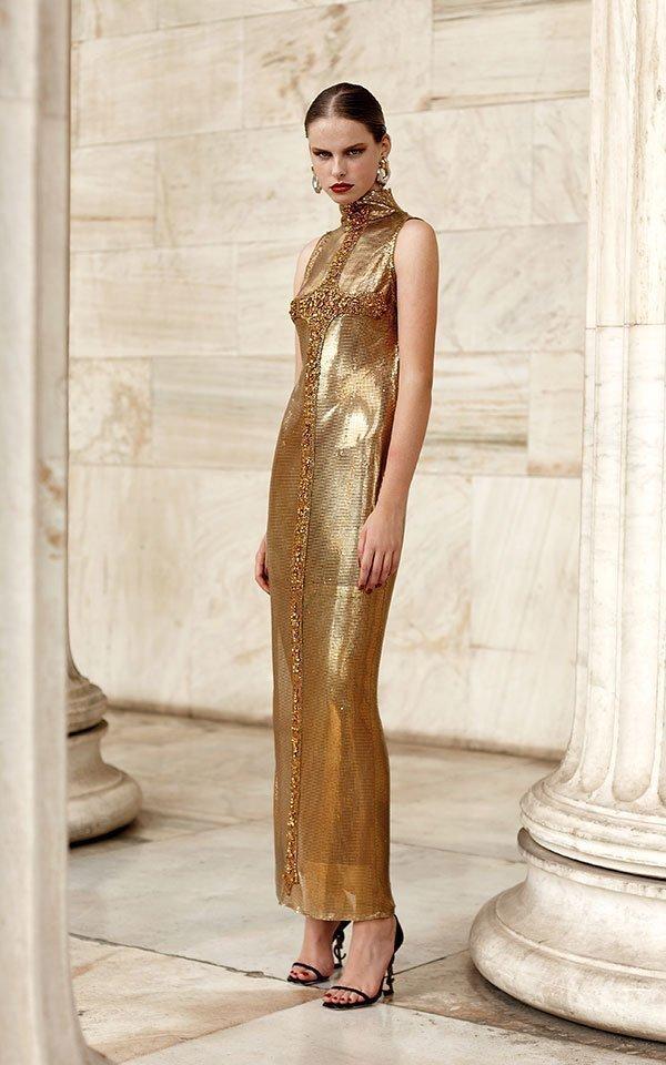 Versace dress Anna Vissi
