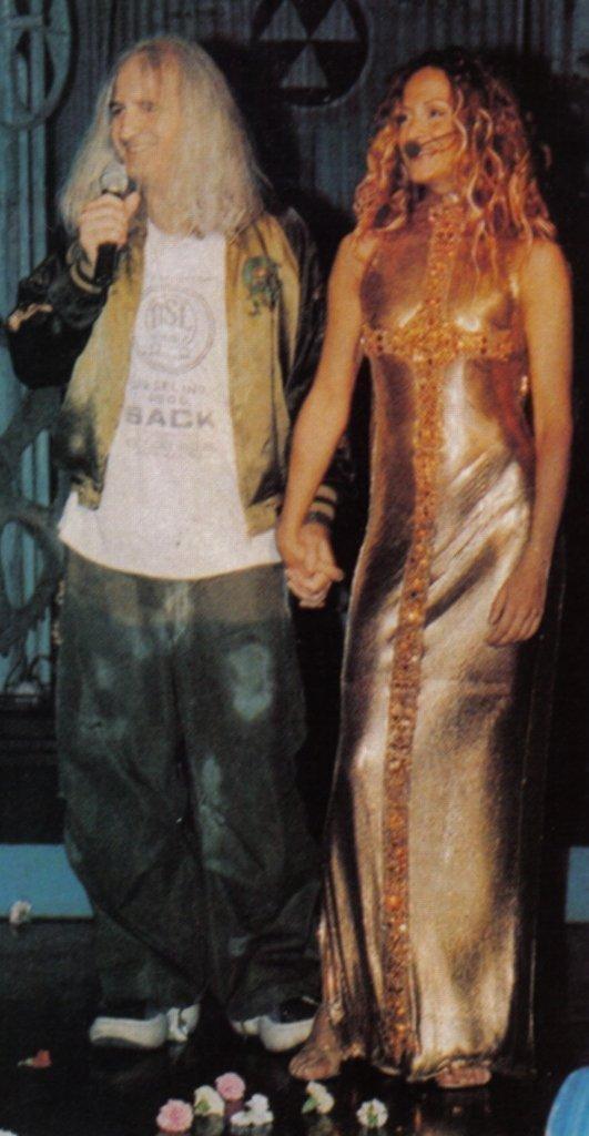 Anna Vissi Versace dress